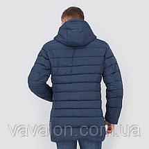 Зимняя мужская куртка Vavalon KZ-P246 ink-blue, фото 2