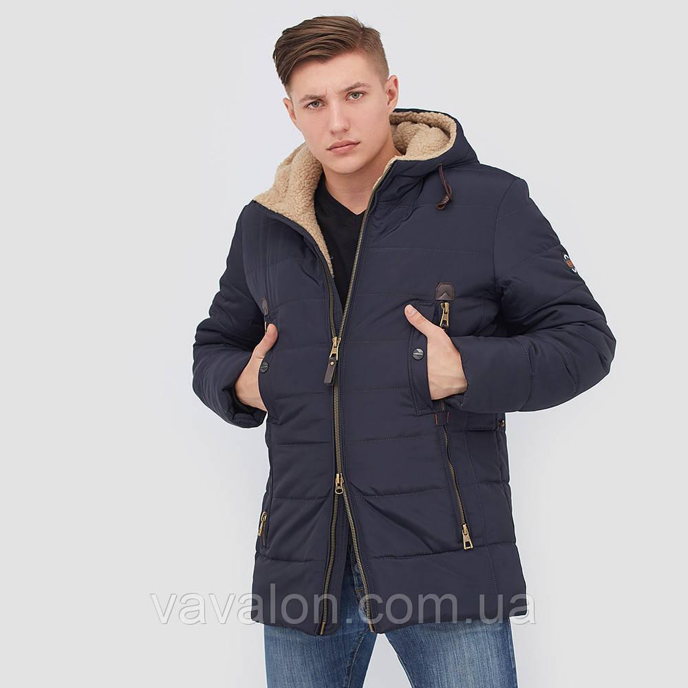 Зимняя мужская куртка Vavalon KZ-268 navy