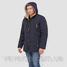 Зимняя мужская куртка Vavalon KZ-268 navy, фото 2