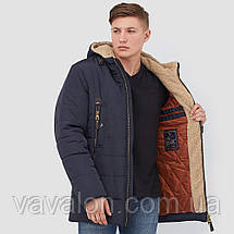 Зимняя мужская куртка Vavalon KZ-268 navy, фото 3