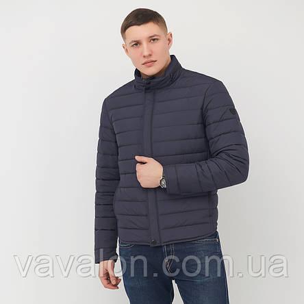 Куртка демисезонная Vavalon KD-186 navy, фото 2