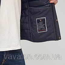 Куртка демисезонная Vavalon KD-186 navy, фото 3