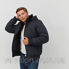 Зимняя мужская куртка Vavalon KZ-282 navy, фото 2