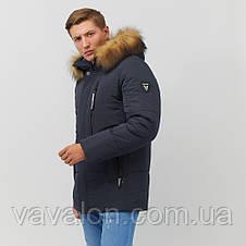 Зимняя мужская куртка Vavalon KZ-251 navy, фото 3