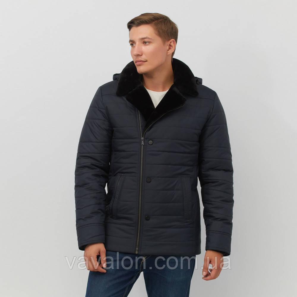 Зимняя мужская куртка Vavalon P-244 navy
