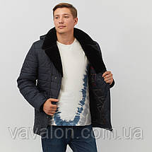 Зимняя мужская куртка Vavalon P-244 navy, фото 2