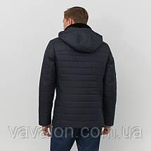 Зимняя мужская куртка Vavalon P-244 navy, фото 3