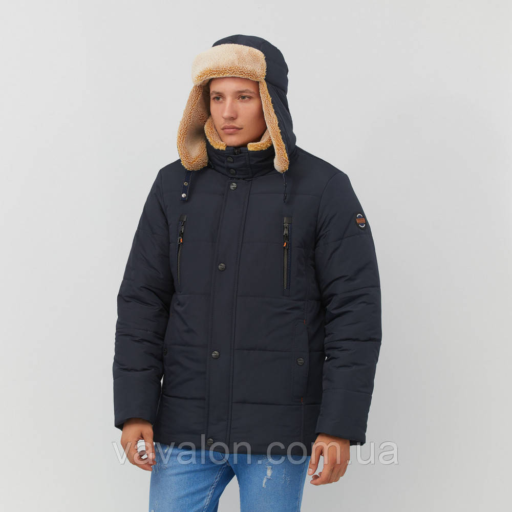 Зимняя мужская куртка Vavalon KZ-238 navy