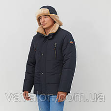 Зимняя мужская куртка Vavalon KZ-238 navy, фото 3