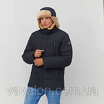 Зимняя мужская куртка Vavalon KZ-238 navy, фото 2