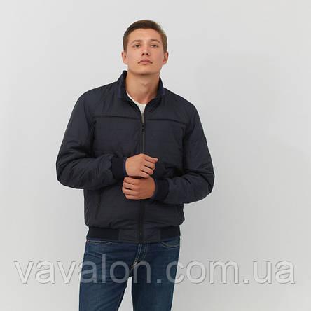 Куртка демисезонная под резинку Vavalon KD-187 navy, фото 2
