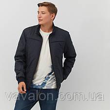 Куртка демисезонная под резинку Vavalon KD-187 navy, фото 3