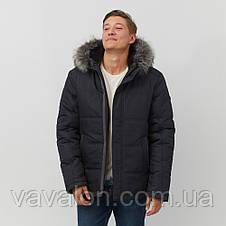 Зимняя мужская куртка Vavalon KZ-256 navy, фото 3