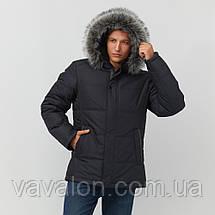 Зимняя мужская куртка Vavalon KZ-256 navy, фото 2