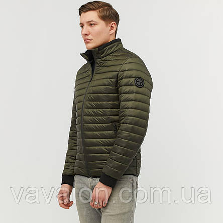 Куртка демисезонная Vavalon KD-191 khaki, фото 2