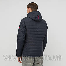 Куртка демисезонная Vavalon KD-194 navy, фото 3