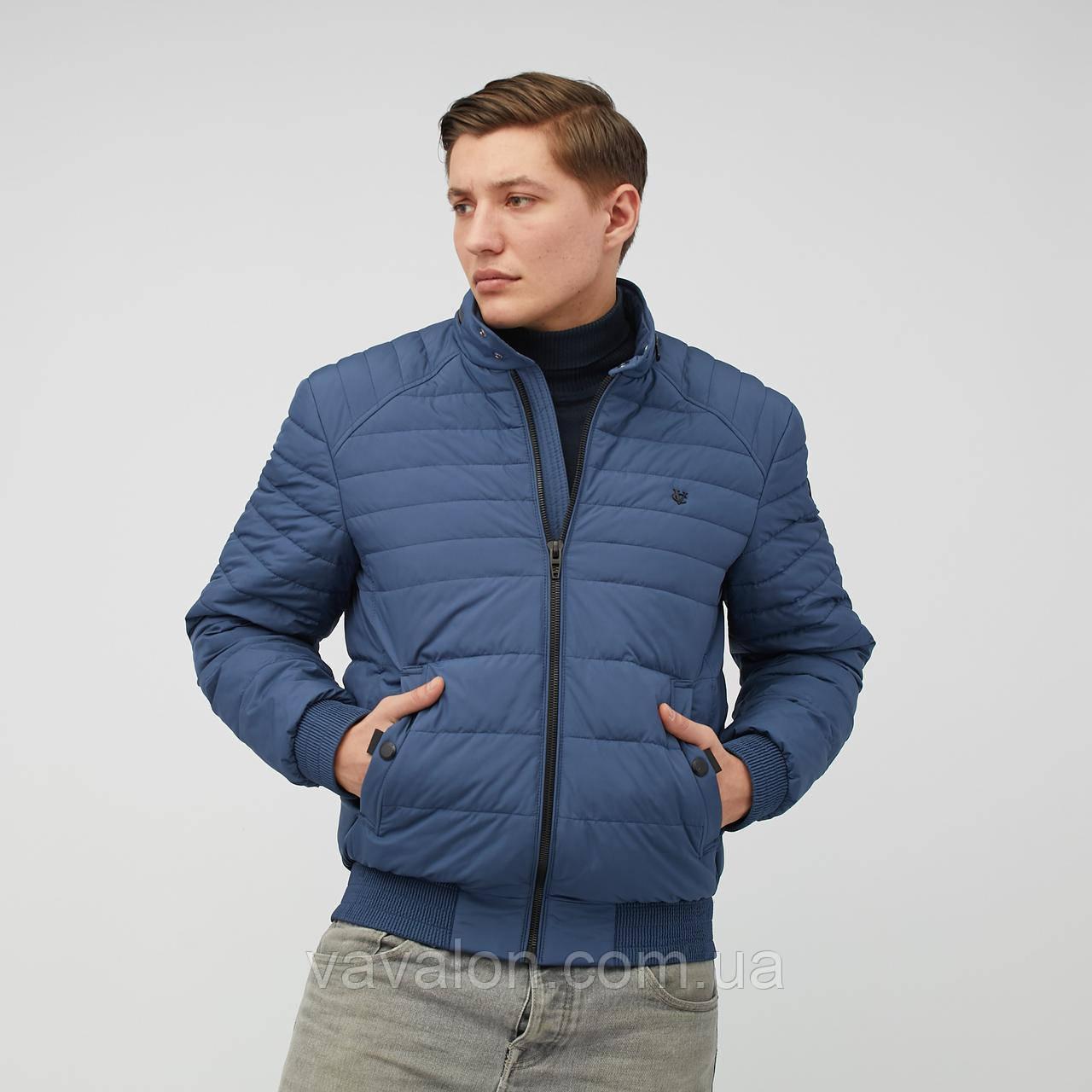 Куртка демисезонная под резинку Vavalon KD-193 ink-blue