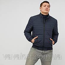 Куртка демисезонная под резинку Vavalon KD-193 navy