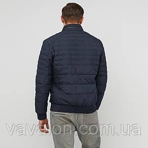 Куртка демисезонная под резинку Vavalon KD-193 navy, фото 2