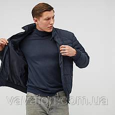 Куртка демисезонная под резинку Vavalon KD-193 navy, фото 3