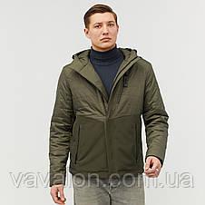 Куртка демисезонная Vavalon KD-801 Khaki, фото 3