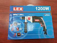 Дрель миксер ударная LEX LXID242 / Мощность: 1200 Вт- Регулировка оборотов