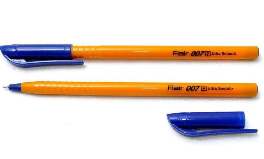 Ручка кулькова синя 007 Orange