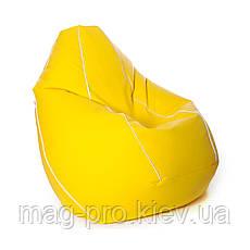 Бескаркасное кресло-груша Кожзам, фото 2