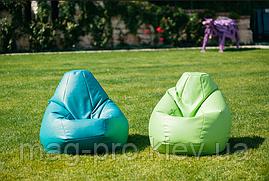Бескаркасное кресло-груша Кожзам, фото 3