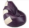Бескаркасное кресло-груша Кожзам, фото 4