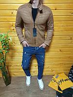 Мужская куртка SCORPION рыжая