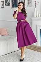 Платье, №139, фиолетовое
