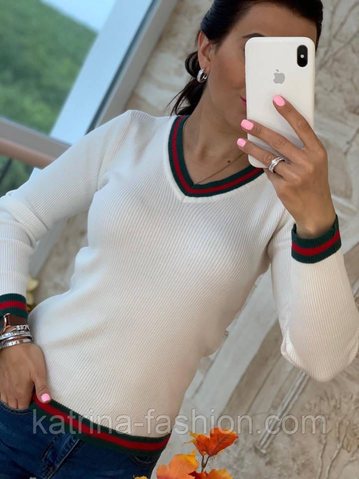 Женский стильный свитер (в расцветках)