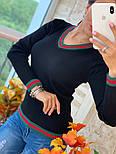 Женский стильный свитер (в расцветках), фото 2