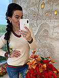 Женский стильный свитер (в расцветках), фото 7