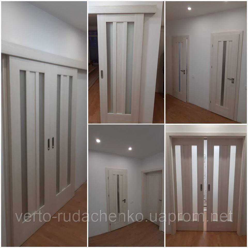 Двери Verto Лада 8.2 (8.1)  цвет Кора береза «Verto-LINE 3D»
