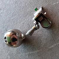 Бубенчик одинарный металл, фото 1