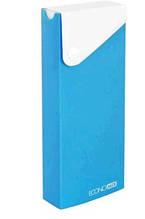 Пенал ECONOMIX пластиковий на кнопці блакитний