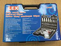 Набор инструментов головки ключи биты трещотка LEX 108 ел хром-ванадий