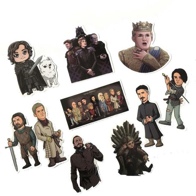 Набор наклеек Игра престолов / Game of Thrones