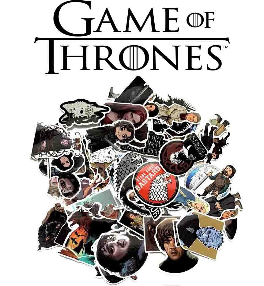 Набор виниловых наклеек Игра престолов / Game of Thrones 31шт.