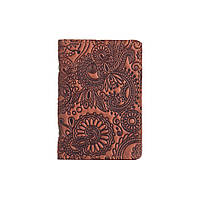 "Обложка-органайзер для документов ( ID паспорт ) / карт Hi Art AD-03 Shabby Dingo ""Mehendi Art"", фото 1"