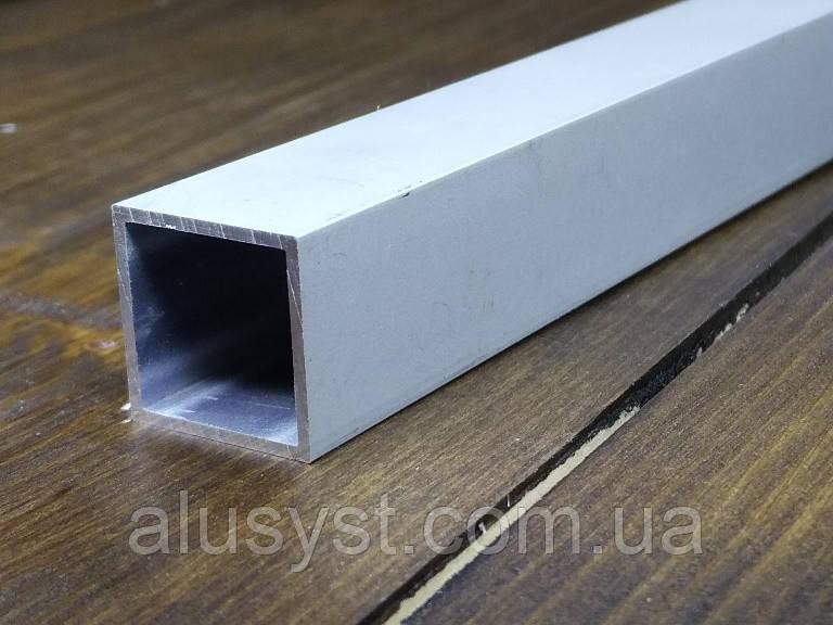 Труба 15х15х1 анод. Алюминиевая квадратная.
