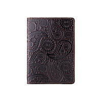 "Обложка для паспорта PC-01 PC-01 Crystal Brown Silk ""Buta Art"", фото 1"