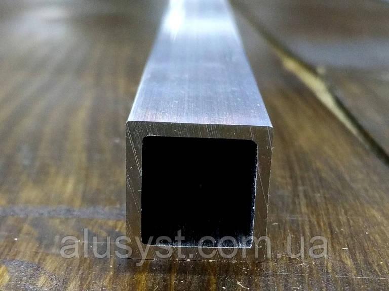 Алюминиевая труба квадратная Модель ПАС-1865 15х15х1,5 / без покрытия