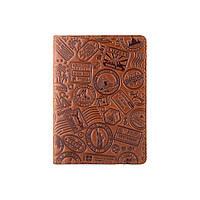 """Обложка для паспорта ручной работы цвета глины, коллекция """"Let's Go Travel"""", фото 1"""