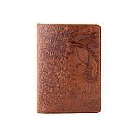"""Обложка для паспорта ручной работы цвета глины, коллекция """"Mehendi Art"""", фото 1"""