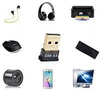 USB Bluetooth v4.0 адаптер. міні блютуз CSR 8510 adapter, фото 1
