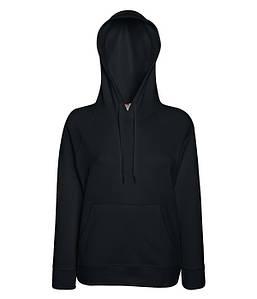 Женская кофта с капюшоном XS, 36 Черный
