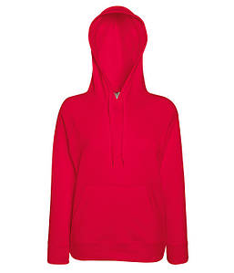 Женская кофта с капюшоном XS, 40 Красный